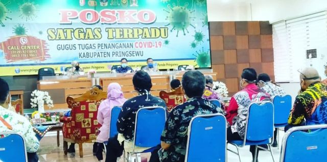 Pemkab Pringsewu Rapat Persiapan Penyaluran Bantuan Sosial Masyarakat